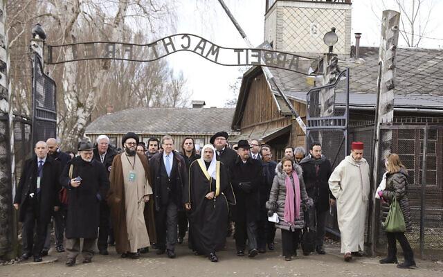 Saudi Muslim Organization Visits Auschwitz